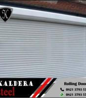 Rolling door besi aluminium