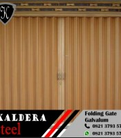 folding gate galvalum