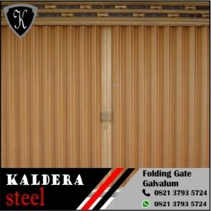 folding gate galvalum