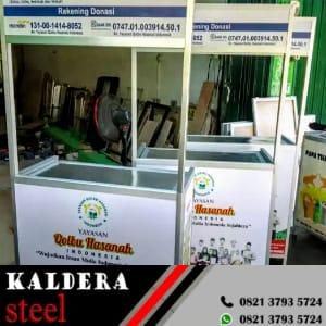 Booth Lipat Aluminium