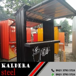 Booth Semi Kontainer