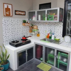 Kitchen Set Aluminium Yogyakarta