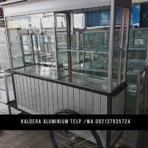 Jual gerobak Aluminium Murah