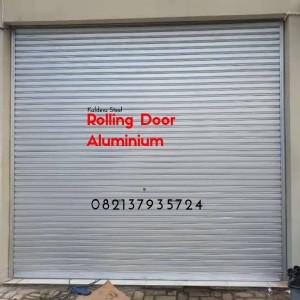 Rolling Door Galvalum Jogja